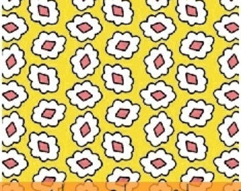 1930 Reproduction Fabric, Playdate, Geometric Yellow 7098