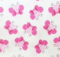 Children's Fabric, Bug Fabric, Itty Bitty, Butterflies 7162 - Beautiful Quilt