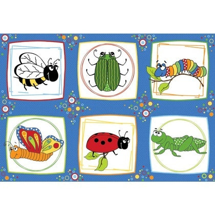 Children's Fabric, Bug Fabric, Bug a Boo, Panel 7181 - Beautiful Quilt