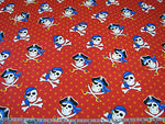 Children's Fabric, Pirate Fabric, Dead Man's Cove, Scull and Cross Bone 7184 - Beautiful Quilt