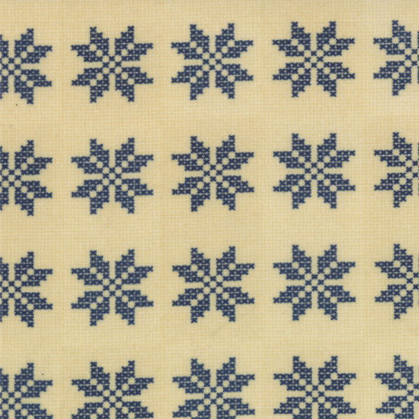 Flower Fabric, Nature's Basket, Counted Cross Stitch Flowers 7230