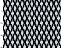 Blender Fabric, Pearle, Metallic Silver Diamonds on Black 7248 - Beautiful Quilt