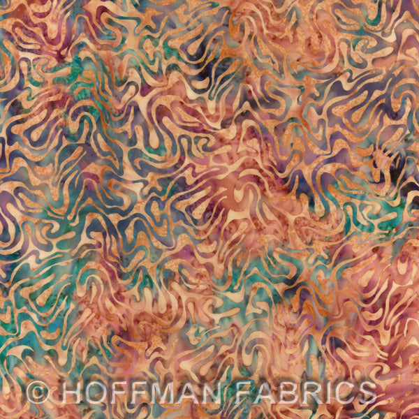 Batik Fabric Hoffman Fabrics September 2987 - Beautiful Quilt