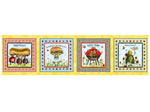 VIP Exclusive Fabric Bug's Picnic bug panel multi 2451