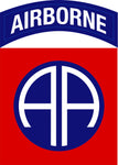 Military Fabric, 82nd Airborne Division Patch US Army Fabric Panel, Cotton or Fleece 655 - Beautiful Quilt