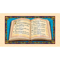 Religious Fabric, The Ten Commandments, Panel 5317 - Beautiful Quilt
