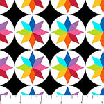 Abstract Fabric Colorworks Concepts Small Circles Geometric Carnivale 4929 - Beautiful Quilt