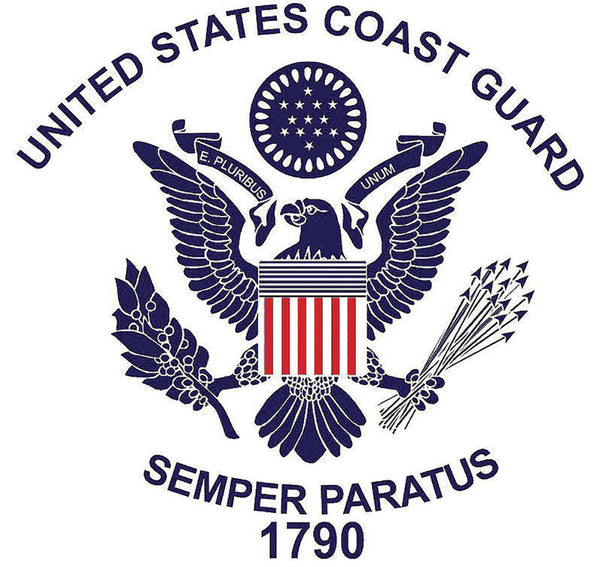 Military Fabric, Coast Guard Fabric, Custom Print Fabric, Logo 5626 - Beautiful Quilt