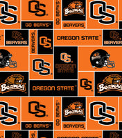 Sports Fabric, College Team Sports, Oregon State University Fabric 3039
