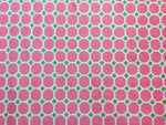 Cuddle Fabric, Shannon, Minky Printed, Geometric Pink 7132 - Beautiful Quilt