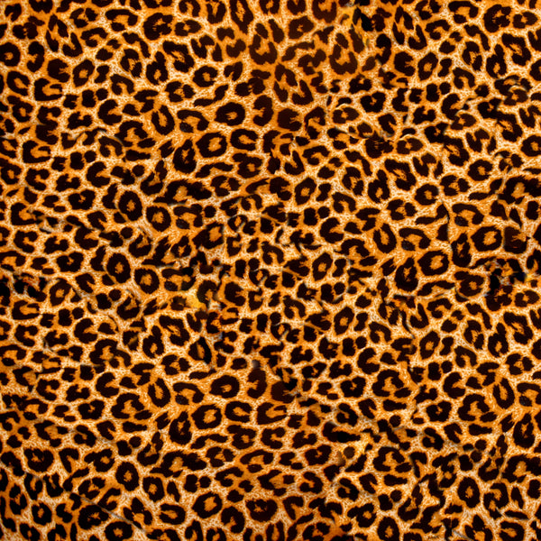 African Fabric, Leopard Fabric Pattern,  Fleece, 2151 - Beautiful Quilt