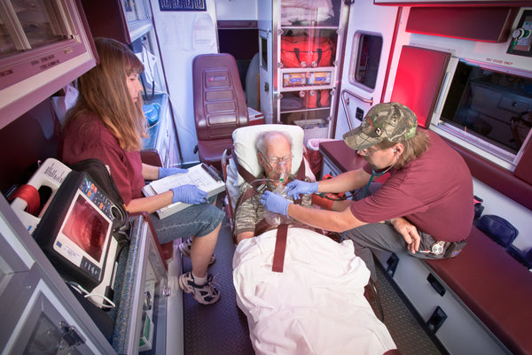 Medical Fabric, Fire Fabric, EMT fabric, In the Ambulance 1311