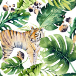 African Animal  Fabric, Tiger Fabric, Cotton or Fleece6011 - Beautiful Quilt