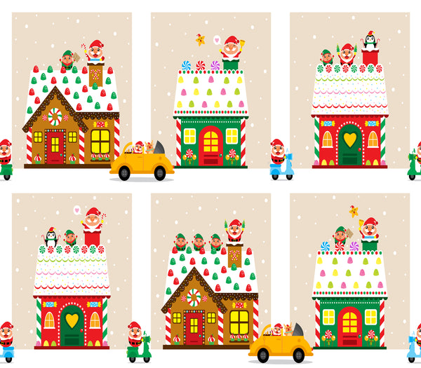 Novelty Christmas Fabric