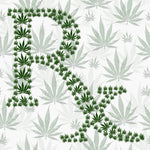 Cannabis Fabric, Prescription Marijuana Fabric, Cotton or Fleece 1523 - Beautiful Quilt