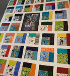 Gallery, Skateboard Quilt, Not for Sale, 3621 - Beautiful Quilt