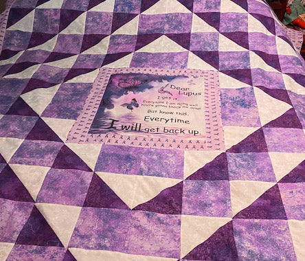 Lupus Fabric, Sample, Not for Sale 2152 - Beautiful Quilt