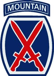 Military Fabric, 10th  Mountain Division 525