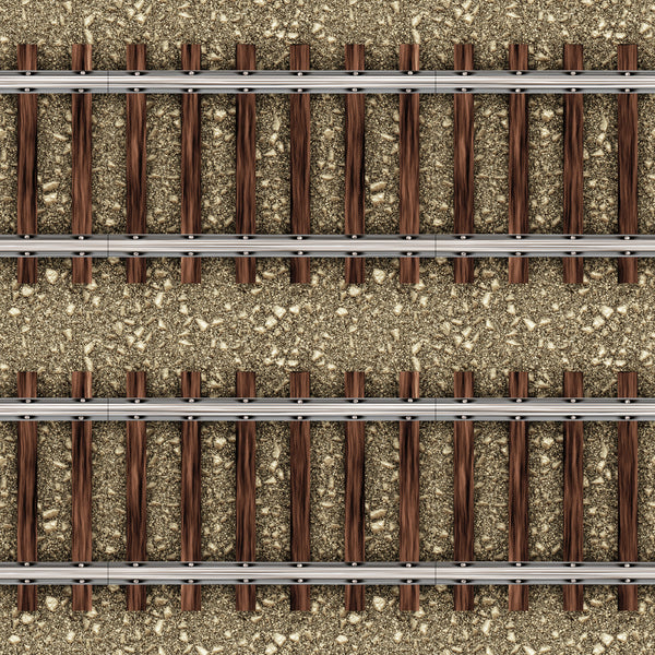 Train Fabric, Railroad Track Fabric, Cotton or Fleece 1639 - Beautiful Quilt