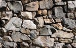 Landscape Fabric, Rock Fabric, Rock Wall Background, Cotton or Fleece, 3531 - Beautiful Quilt