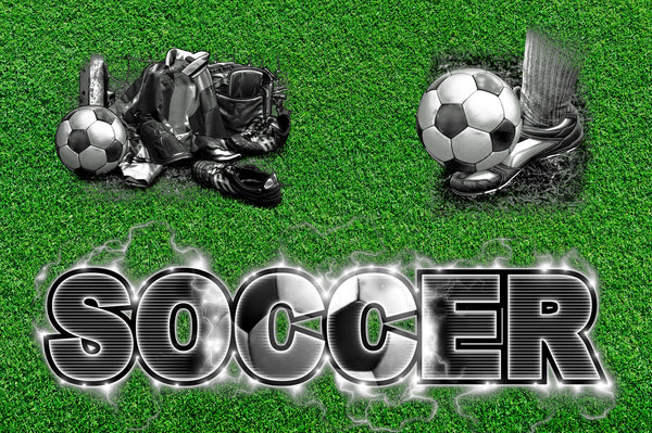 Sports Fabric, Soccer Fabric, Words, 10320