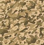 Military Fabric, Camouflage Fabric Desert Color 5705 - Beautiful Quilt