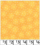 Blender Fabric Blank Starlet Micro Stars Yellow 5329 - Beautiful Quilt