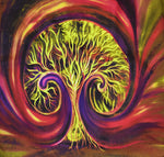 Abstract Tree Fabric Frond Discovery Tree landscape 4417
