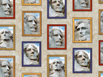 Patriotic Fabric Quilting Treasure Mount Rushmore president 3051