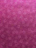 Blender Fabric QT Harmony Geometric Squares Wine 4935 - Beautiful Quilt