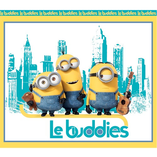 "Minion Fabric QT Le Buddies 36"" Panel 4766"