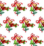 Christmas Fabric, Christmas Bells, Cotton or Fleece 2041 - Beautiful Quilt