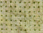 Batik Fabric Print Concepts Inc basket weave green 1006