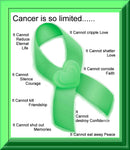 Cancer Fabric, Lymphoma Cancer Fabric, Custom Print Panel, Cancer Poem Panel 20-5631 - Beautiful Quilt