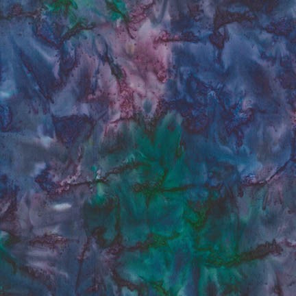Batik Fabric RK Patina Handpaints 2 purple 4467