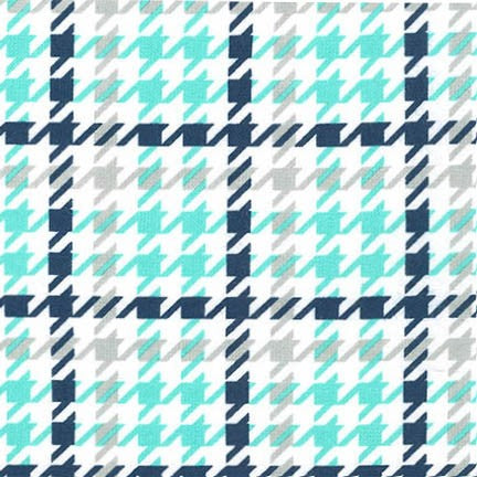 Flannel Fabric, Cozy Cotton, Herringbone Baby Boy 4734 - Beautiful Quilt