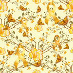 Cancer Fabric, Childhood Cancer Fabric, Butterflies, Cotton or Fleece 5889 - Beautiful Quilt