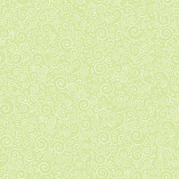 Blender Fabric QT Baby Sprinkles Swirls Green 4908 - Beautiful Quilt