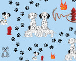 Dog Fabric, Dalmatian Fabric, Cotton or Fleece 1857 - Beautiful Quilt
