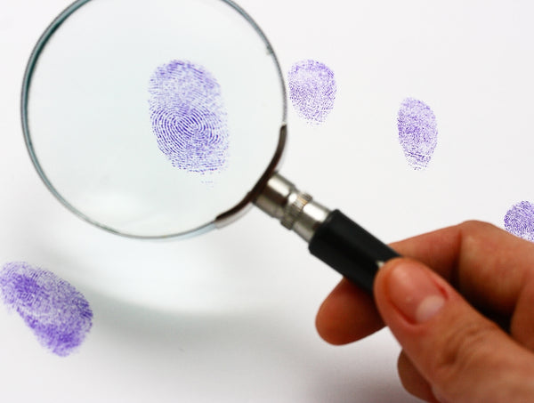Police Fabric Finger Print Examination 5843