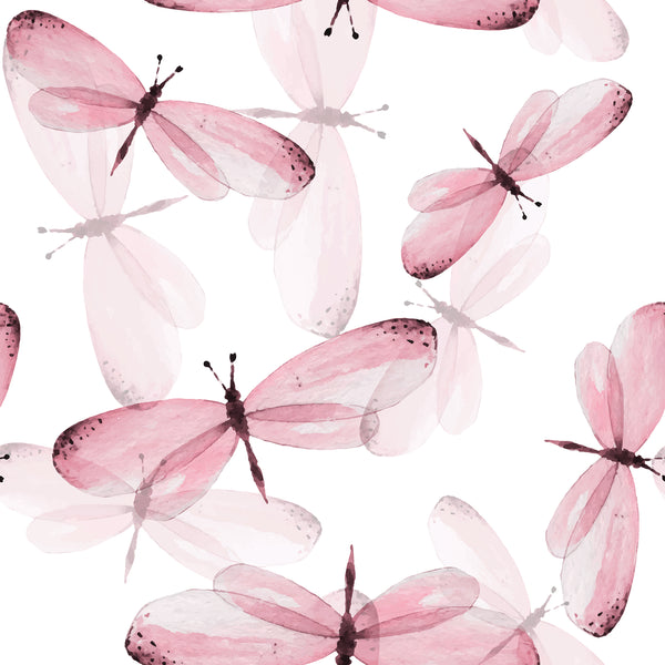 Bug Fabric, Dragonfly Fabric Pink, Cotton or Fleece 1402-Pink - Beautiful Quilt