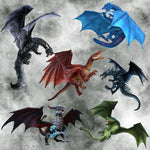 Dragon Fabric, Dragons fighting in the sky, Cotton or Fleece 2011 - Beautiful Quilt
