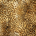 African Fabric, Leopard Fabric Pattern Multi, Cotton or Fleece, 2152 - Beautiful Quilt