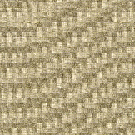 Metallic Blender Fabric RK Essex Gold Camel 4903
