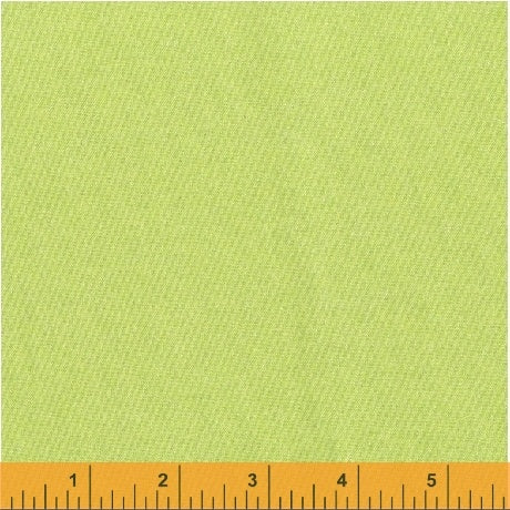 Solid Fabric Windham Opalescence Lime Green 5040