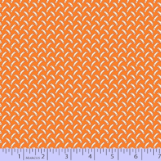 1930 Reproduction Fabric Marcus Grace Miniatures II Orange 4554 - Beautiful Quilt