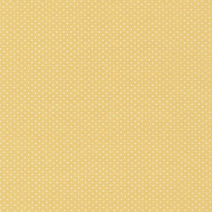 Polka Dot Fabric Rk Sevenberry Micor Dot Yellow 4980