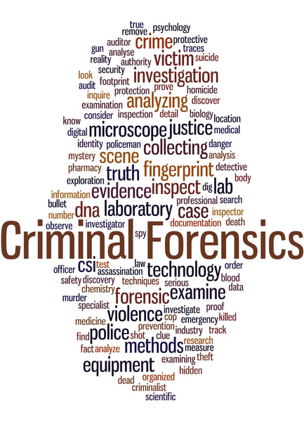 Police Fabric Criminal Forensic 5842