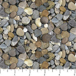 Rock Fabric Northcott Fabric Naturescapes Landscape 5283 - Beautiful Quilt