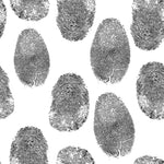 Police Fabric, Fingerprint Fabric, Cotton or Fleece 2265